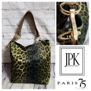 Handbags - 🌷JPK Paris 75 Leopard Print Shoulder Bag